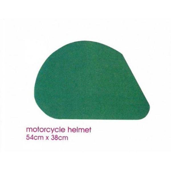 Val Spicer - Floral Foam Designer Shape - Motorbike Helmet 1