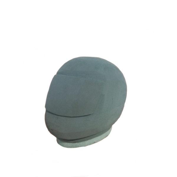 Val Spicer - Floral Foam 3D Shape - Motorbike Helmet 1