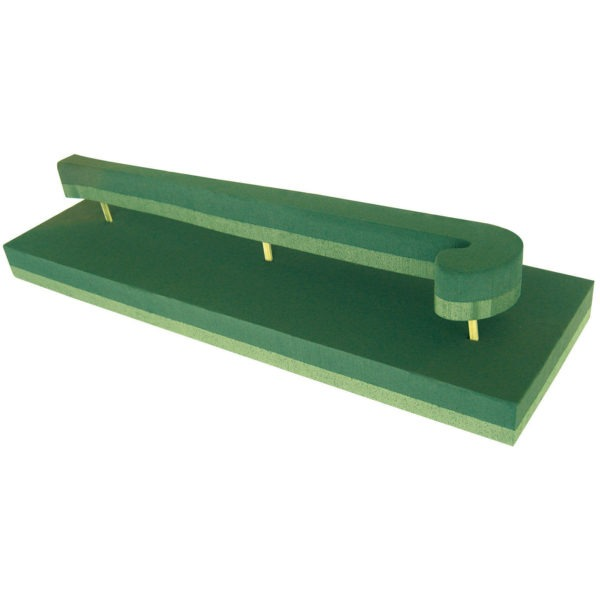 Val Spicer - Floral Foam 3D Shape - Hockey Stick 1