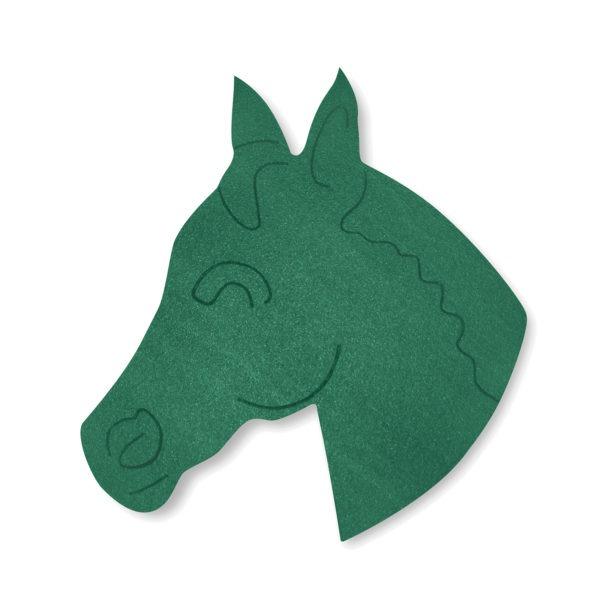 Val Spicer - Floral Foam Designer Shape - Horse's Head 1