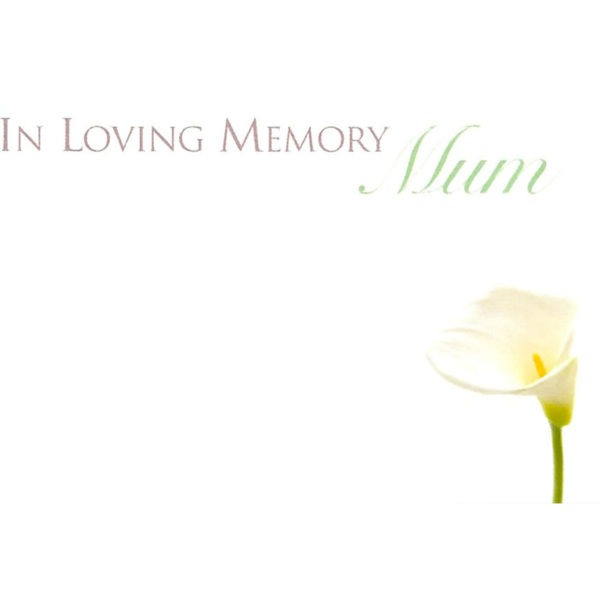 Small Cards - In Loving Memory Mum 1