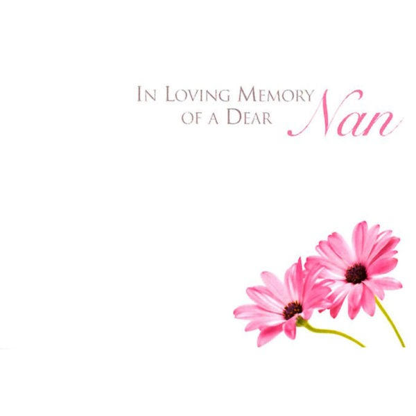 Small Cards - In Loving Memory Of A Dear Nan 1