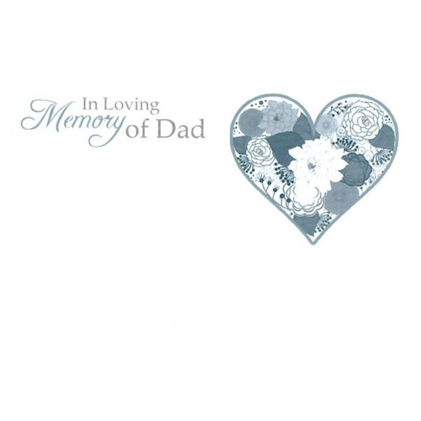 Small Cards - In Loving Memory Of Dad 1