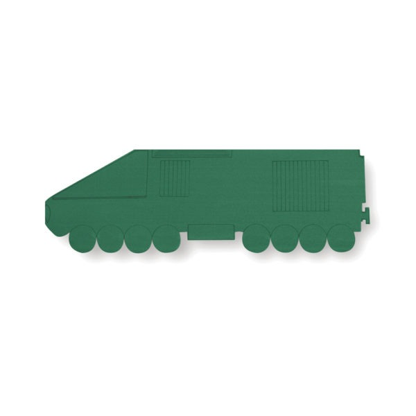 Val Spicer - Floral Foam Designer Shape - Intercity Train 1