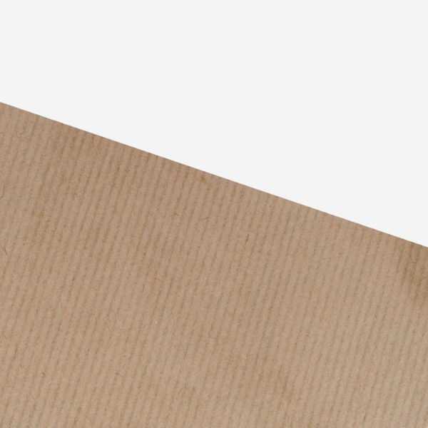 Ribbed Kraft Paper Sheets - 50 x 75cm - 480 Sheets - 40gsm 1