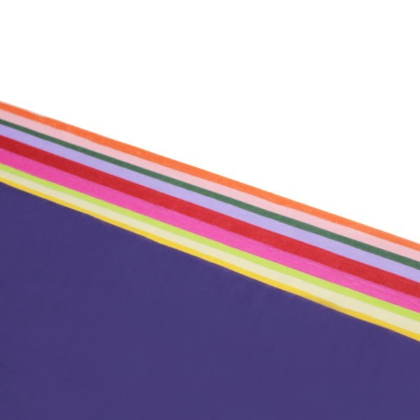 Assorted Colours Tissue Paper - 75 x 50cm - 240 Sheets 1
