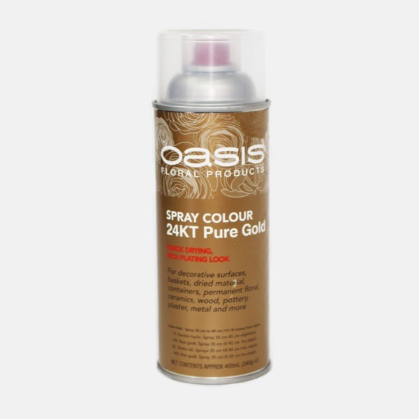 Oasis Spray Colour - 24KT Pure Gold 1