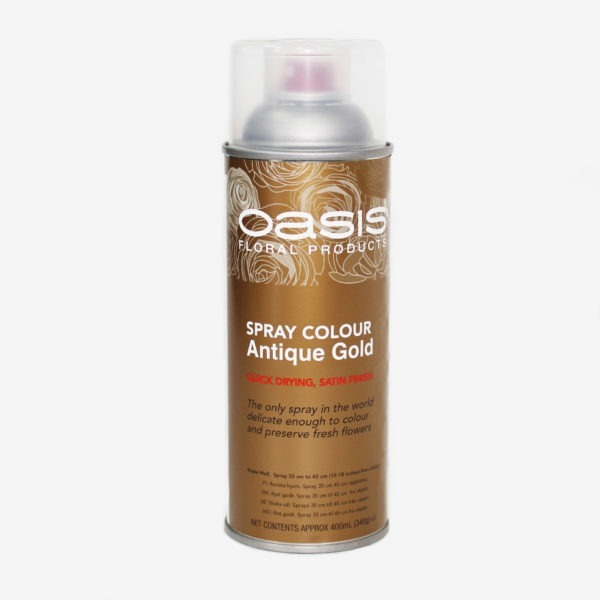 Oasis Spray Colour - Antique Gold 1