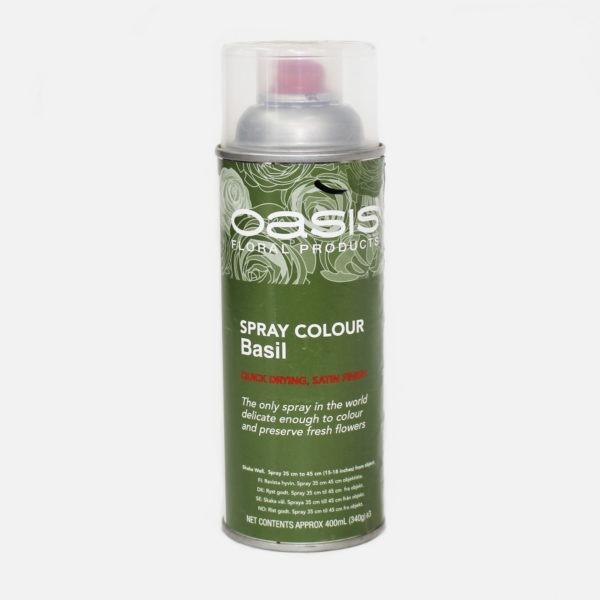 Oasis Spray Colour - Basil 1