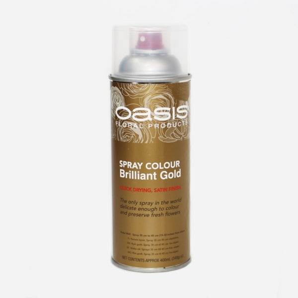 Oasis Spray Colour - Brilliant Gold 1