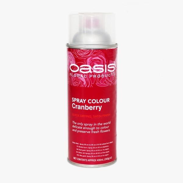 Oasis Spray Colour - Cranberry 1
