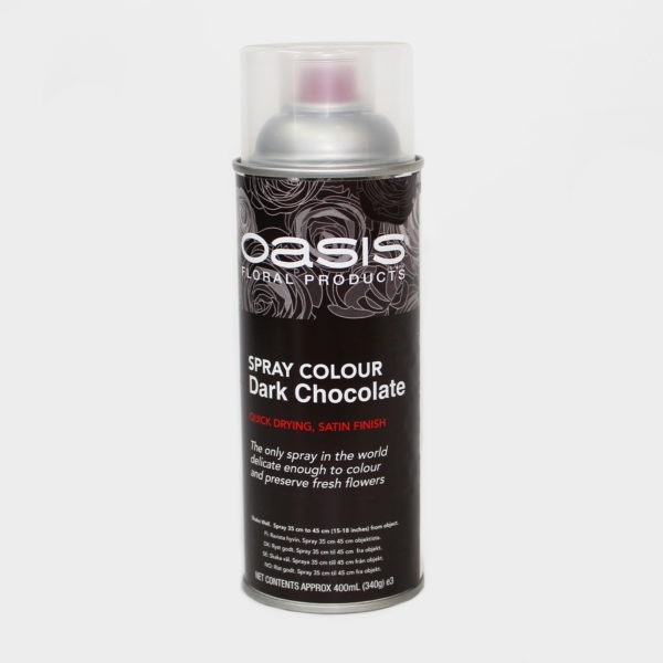 Oasis Spray Colour - Dark Chocolate 1