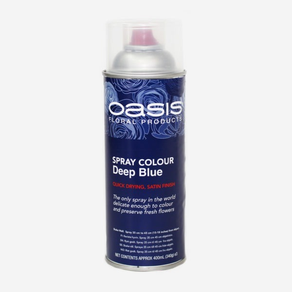 Oasis Spray Colour - Deep Blue 1
