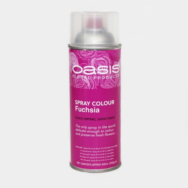 Oasis Spray Colour - Fuchsia 1