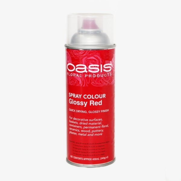 Oasis Spray Colour - Glossy Red 1