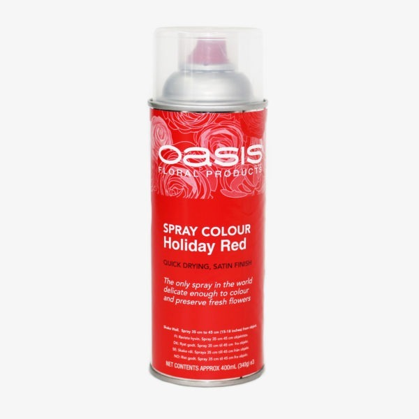 Oasis Spray Colour - Holiday Red 1