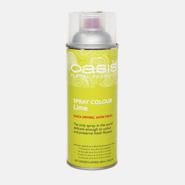 Oasis Spray Colour - Lime 1