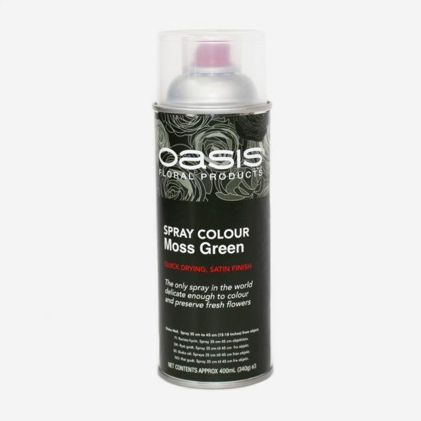 Oasis Spray Colour - Moss Green 1