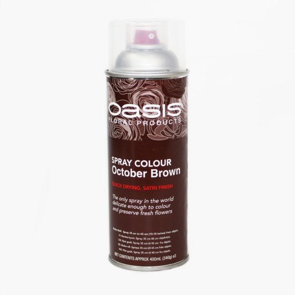 Oasis Spray Colour - October Brown 1