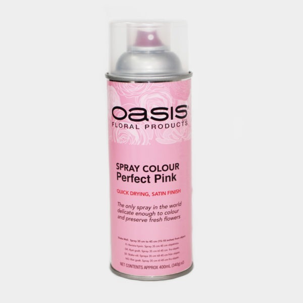 Oasis Spray Colour - Perfect Pink 1
