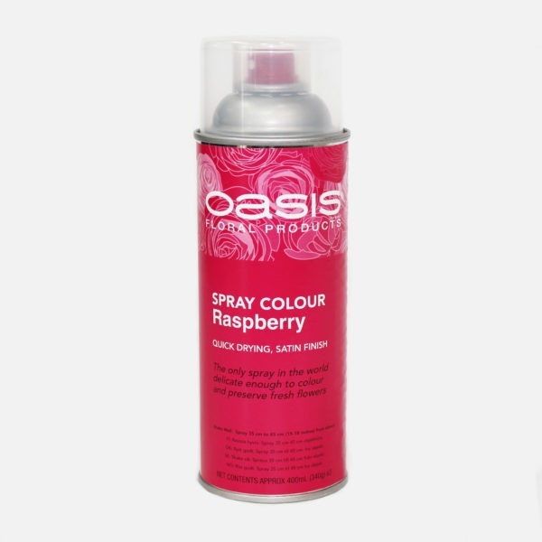 Oasis Spray Colour - Raspberry 1