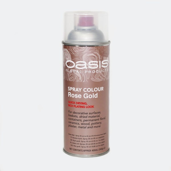 Oasis Spray Colour - Rose Gold 1