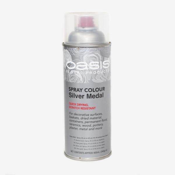Oasis Spray Colour - Silver Medal 1