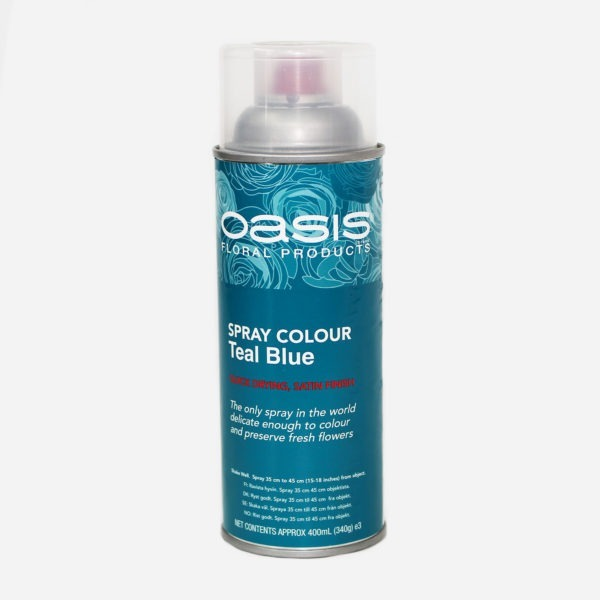 Oasis Spray Colour - Teal Blue 1