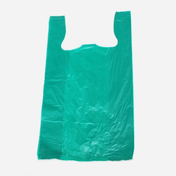 Ocean Green - Green HDPE Recycled Vest Carriers 1