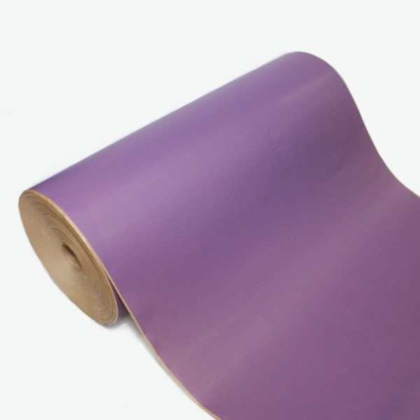 Lilac Ribbed Kraft Paper Roll 1