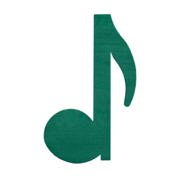Val Spicer - Floral Foam Designer Shape - Musical Note - Quaver 1