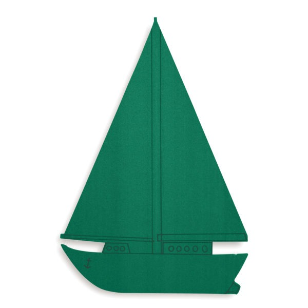 Val Spicer - Floral Foam Designer Shape - Sailing Boat 1