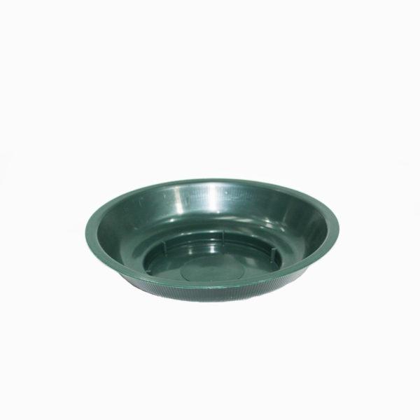 Round Green Plastic Dish 1