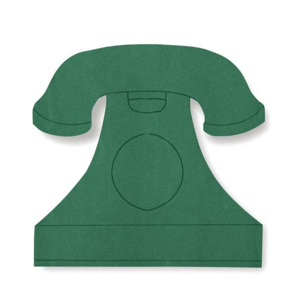 Val Spicer - Floral Foam Designer Shape - Telephone 1