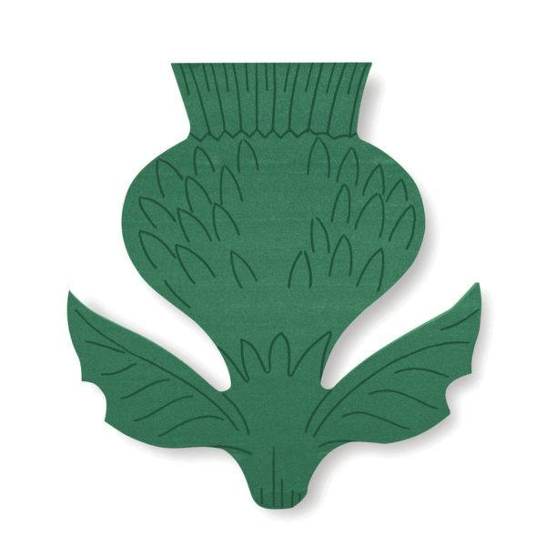 Val Spicer - Floral Foam Designer Shape - Thistle 1