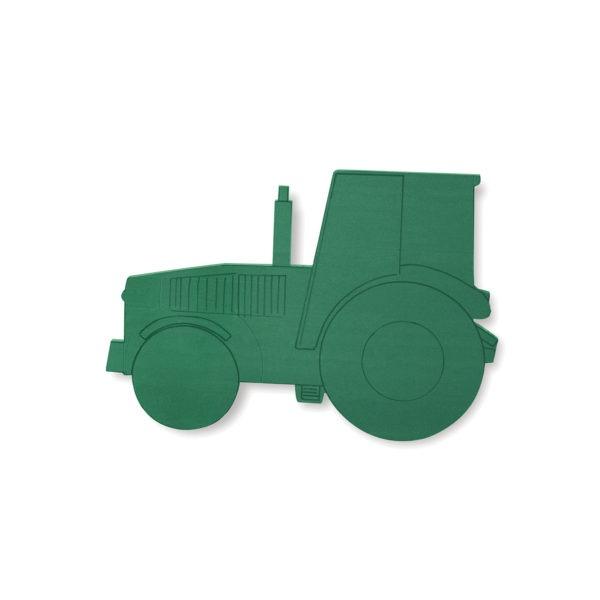 Val Spicer - Floral Foam Designer Shape - Tractor 1
