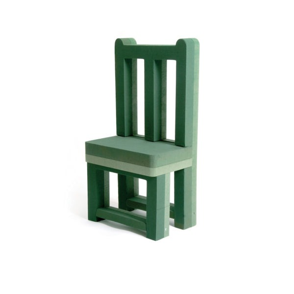 Val Spicer - Floral Foam 3D Shape - Vacant Chair 1