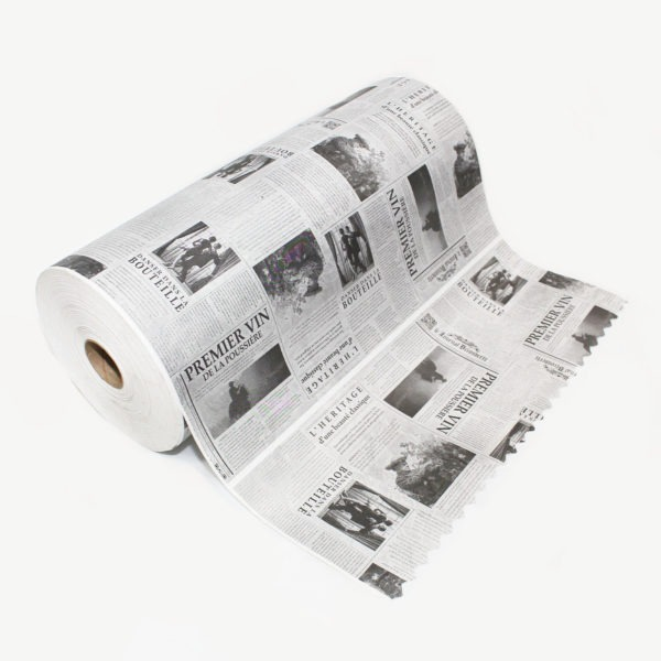 White Newsprint Kraft Paper Roll 1