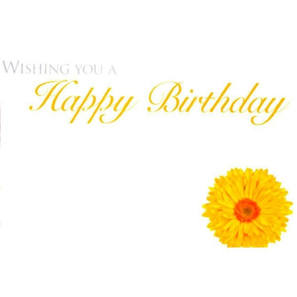 Small Cards - Wishing You A Happy Birthday 1