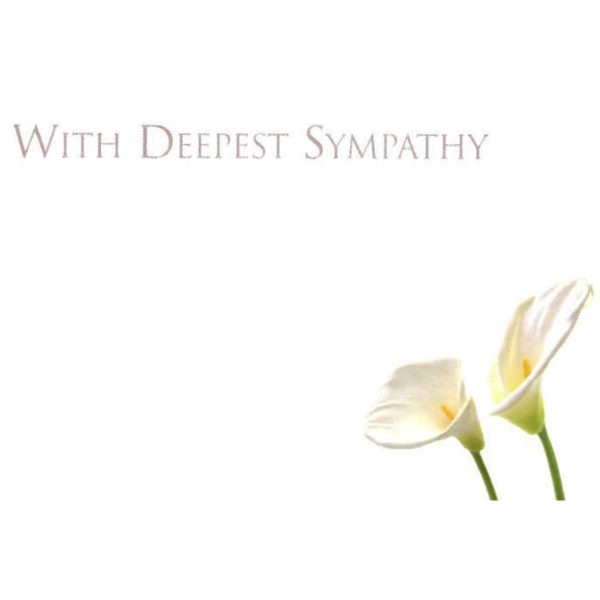 Small Cards - With Deepest Sympathy 1