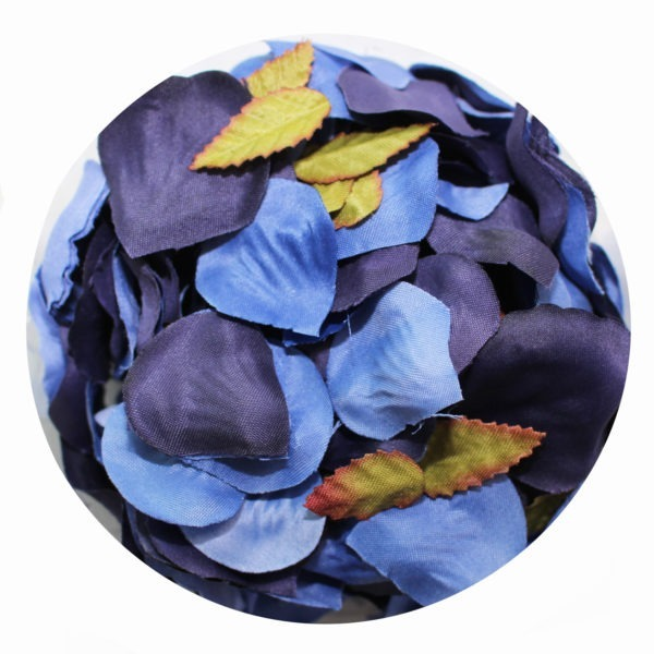 Rose Petals - 2 Shades of Blue 1