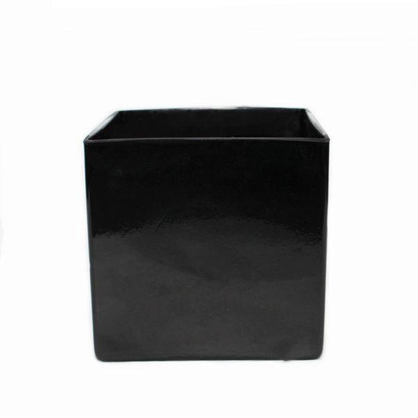 Black Glass Cube 1