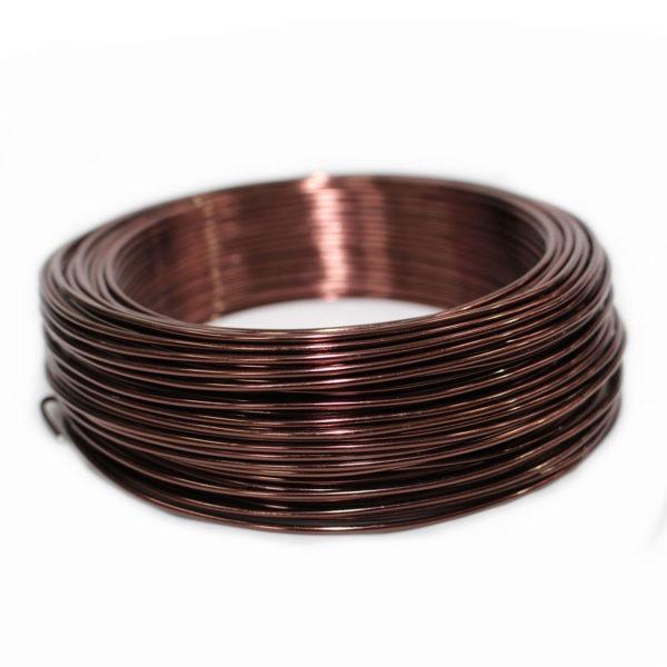 Aluminium Wire - Chocolate 1