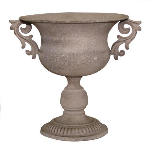 ATHENA Metal Urn With Handles 1