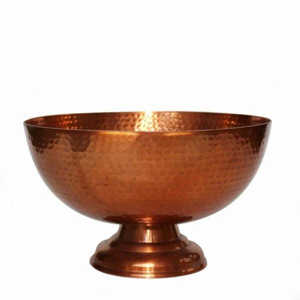 Textured Metal Bowl - Copper 1