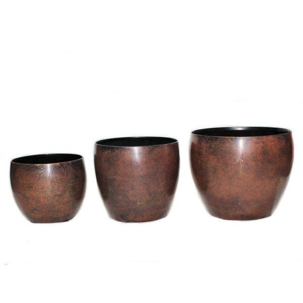 KIAN Pot Set - Brown 1