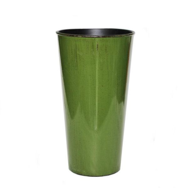 Plastic Green Vase 1
