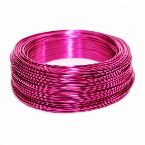 Aluminium Wire - Fuchsia 1