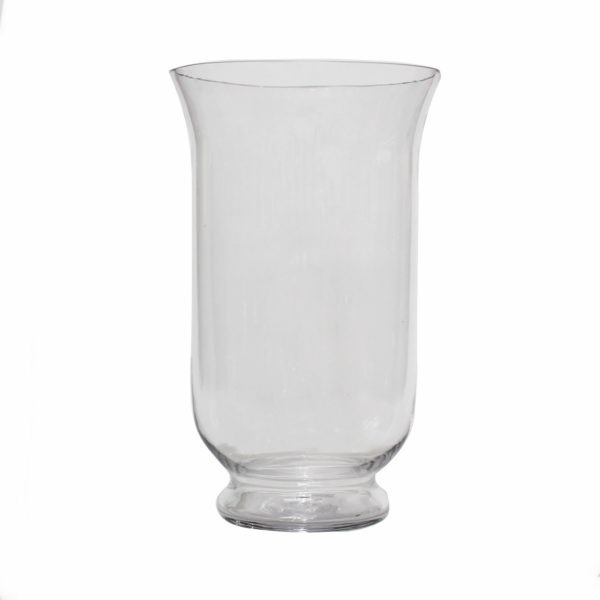 Glass Hurricane Vase 1