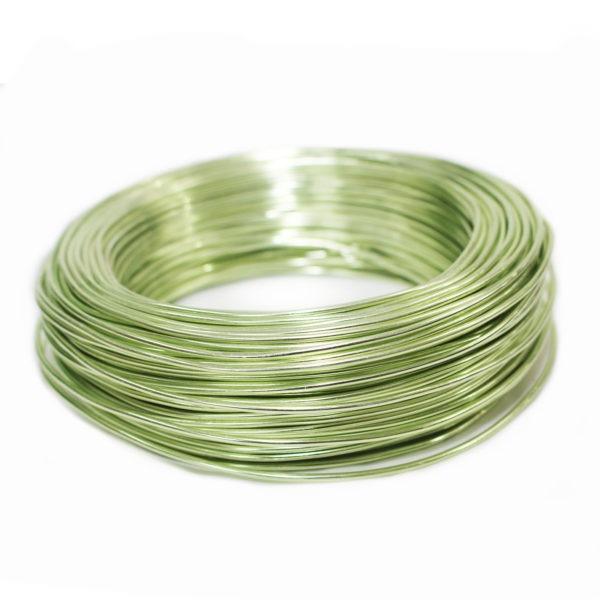 Aluminium Wire - Green Gold 1
